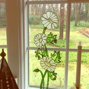 Other - Painted glass hanging